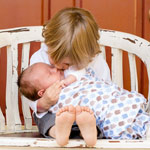 Chiropractic adjustment for babies